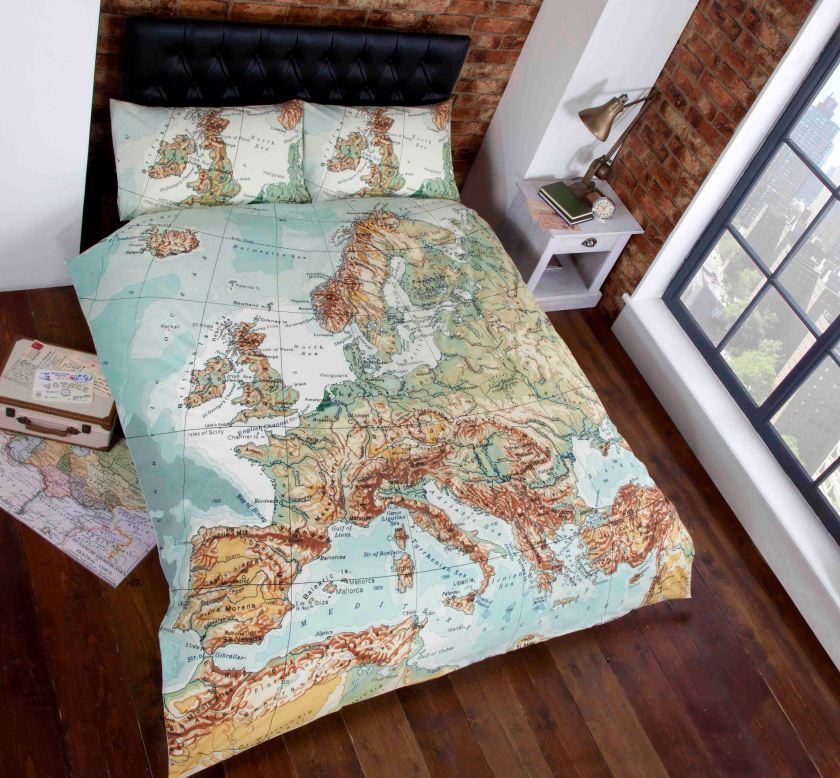 Vintage Map email